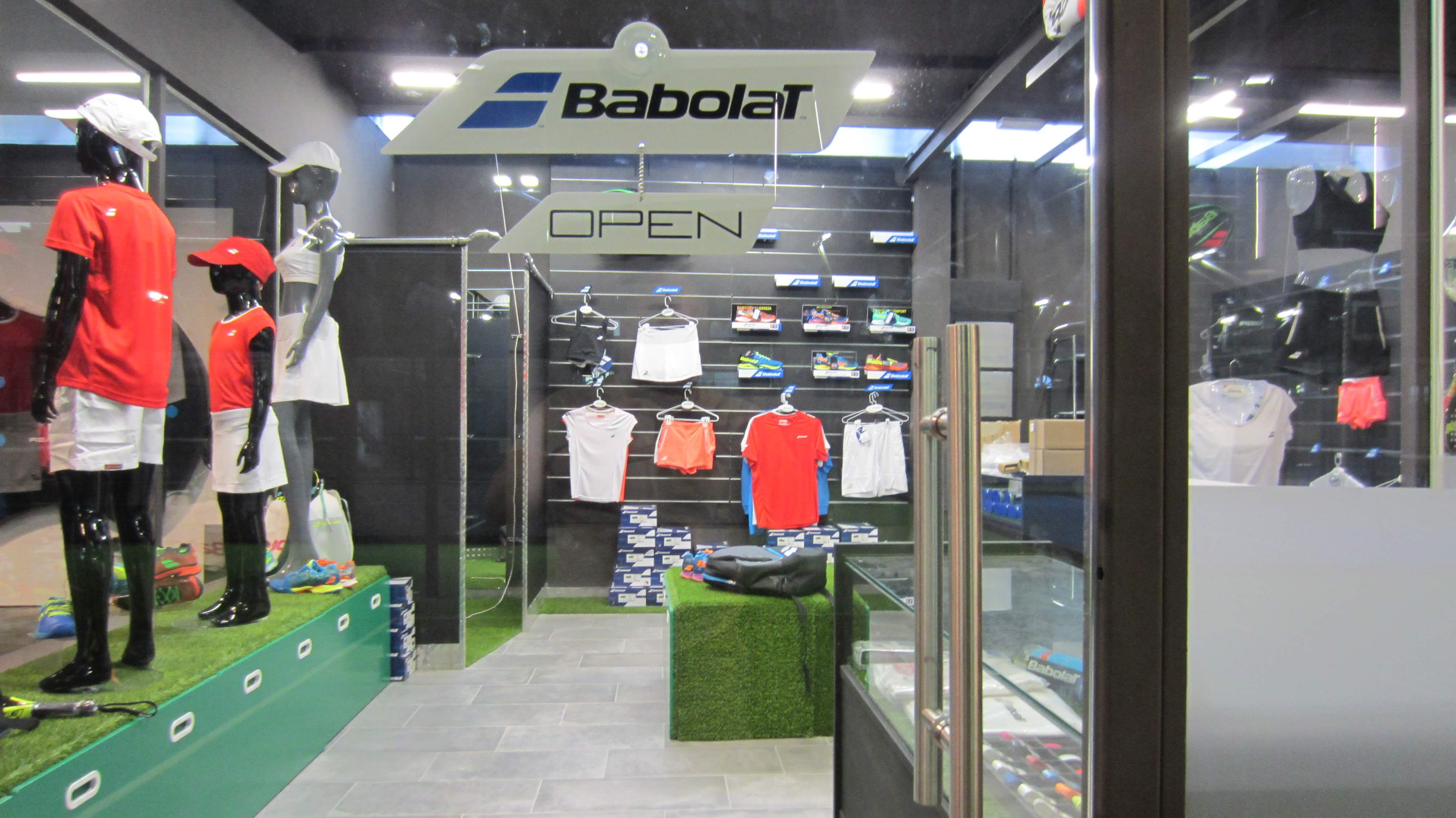 Exclusiva boutique Babolat