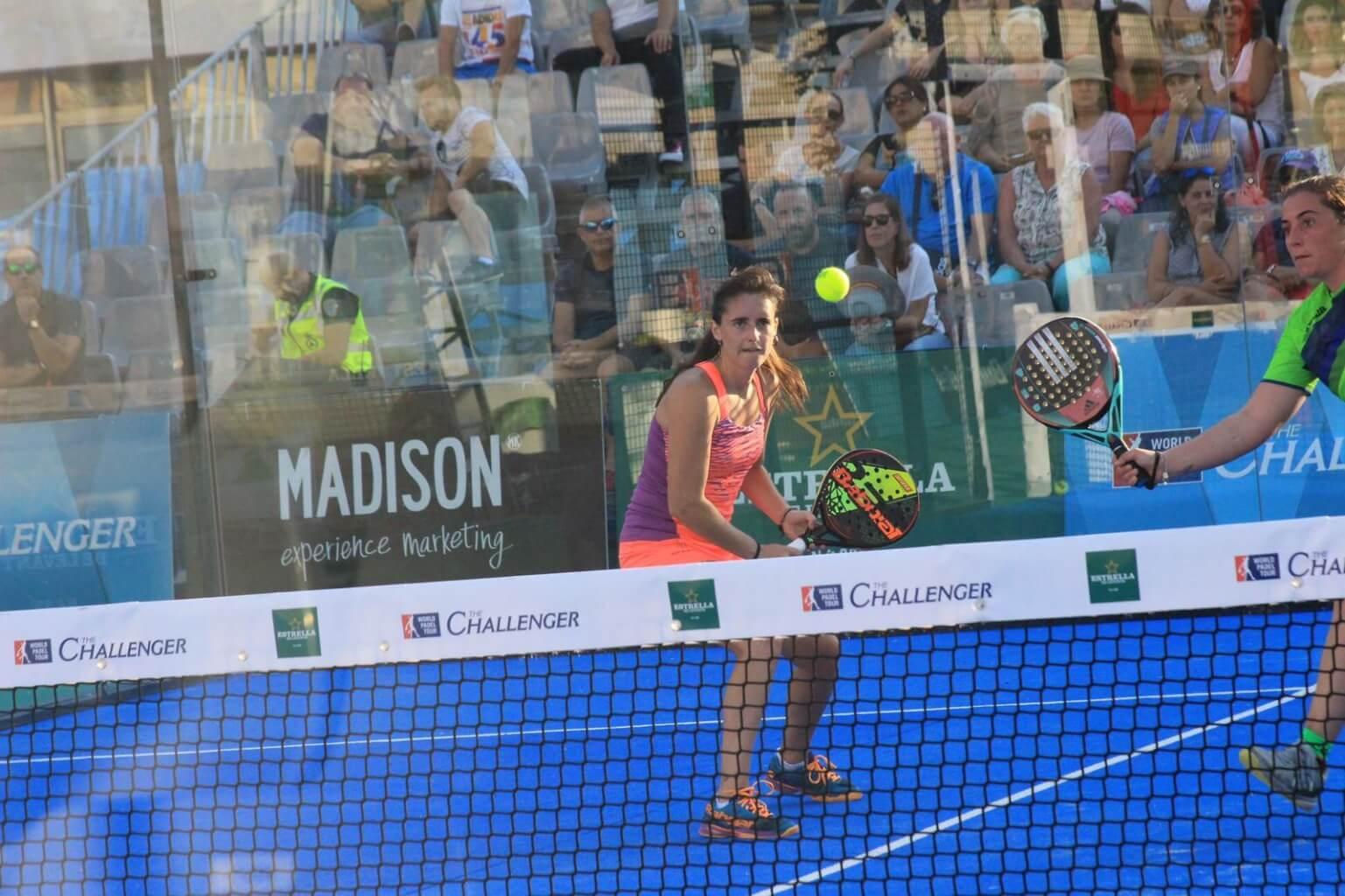 Marina Pinacho en cuartos de final WPT