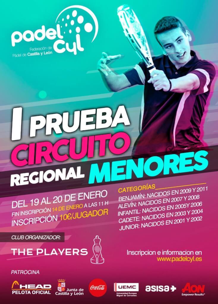 The Players acoge la I prueba del Circuito Regional de Menores 2019