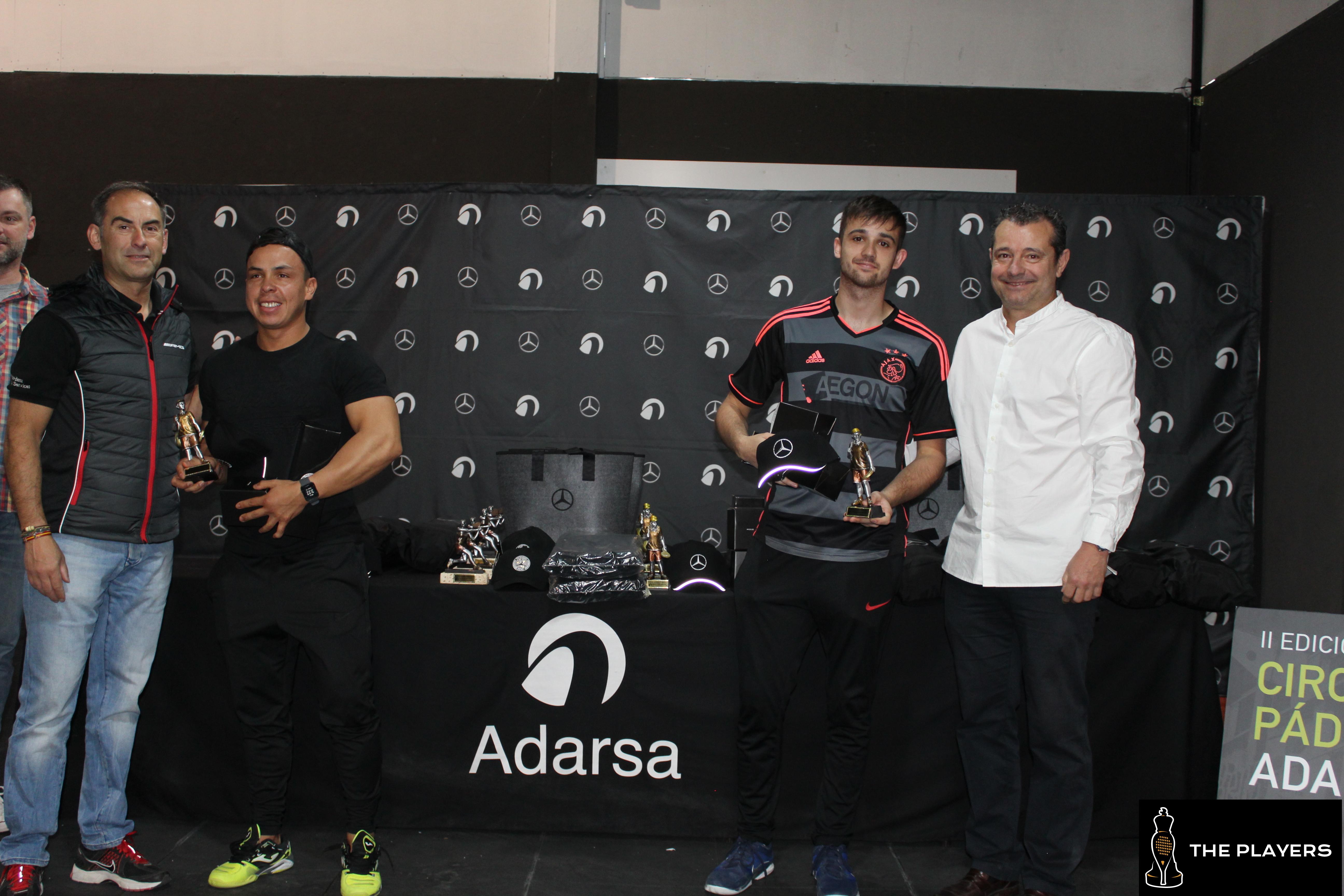Galería de fotos  II Circuito de padel Adarsa en The Players | 16-19 mayo 2019