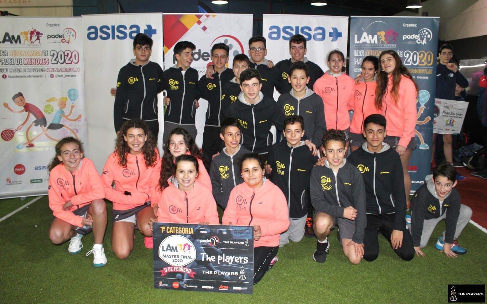 Master Final Liga Autonómica de Menores (LAM)