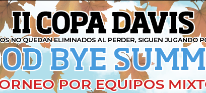 III Copa Davis 'Goodbye Summer'